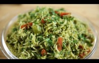 How To Make Coriander Rice – Coriander Rice Recipe | Lunch Recipe | Rice Recipe | Ruchi's Kitchen
