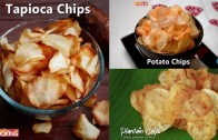 3 Easy & Homemade Chips Recipes – Compilation – Ventuno Home Cooking