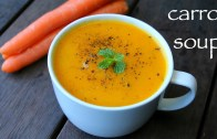 carrot soup recipe – gajar ka soup recipe – cream of carrot soup