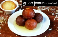 easy gulab jamun recipe – how to make instant gulab jamun with ready mix recipe