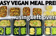 EASY VEGAN MEAL PREP – I spent NO money lol