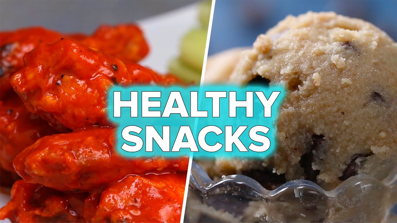 Healthy Versions of Unhealthy Snacks - CookeryShow.com