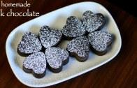 homemade chocolate recipe – how to make milk chocolate recipe – making chocolate