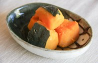Kabocha no Nimono – Simmered Pumpkin – Recipe – Japanese Cooking 101