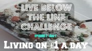 LIVING ON £1 A DAY – VEGAN – Live Below the Line Ep.2  – Day 1 – Cheap Lazy Vegan