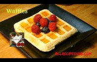 Waffle Recipe – How to make waffles – Waffle with Icecream