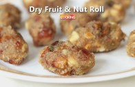 Dry Fruit and Nut Roll – Indian Sweet Recipe