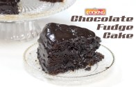 Easy Chocolate Fudge Cake –  How To Make Chocolate Fudge Cake Recipe