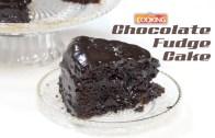 Easy Chocolate Fudge Cake –  How To Make Chocolate Fudge Cake Recipe