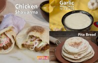 Homemade Chicken Shawarma Recipe – Pita Bread – Garlic Mayo Sauce – Compilation