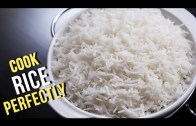 How To Cook Rice Perfectly – Easy Recipe By Ruchi Bharani – Basic Cooking