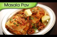 Masala Pav – Mumbai Street – Fast Food Recipe – Ruchi's Kitchen