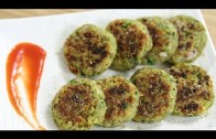 Moong Dal Tikki Recipe – Green Gram Patty – Indian Snacks Recipe – Snacks Recipes | Ruchi Bharani