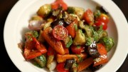 Roasted Vegetable Salad Recipe – Quick & Easy Baked Veg Salad – Ruchi's Kitchen