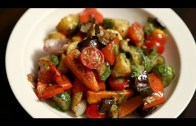 Roasted Vegetable Salad Recipe – Quick & Easy Baked Veg Salad – Ruchi's Kitchen