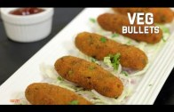 Veg Bullets – Healthy Snack Recipe – Veg Starters