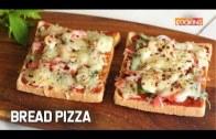 Bread Pizza – Quick and Easy Bread Pizza – Kid's Snack Recipe