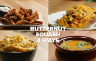 Butternut Squash 4 Ways
