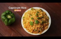 Capsicum Rice – Ventuno Home Cooking