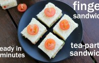 finger sandwiches recipe – tea sandwiches – party mini sandwiches – healthy sandwiches