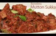 Mutton Sukka  – Ventuno Home Cooking