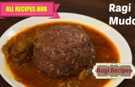 Ragi Mudde – Ragi kali with Mutton curry – Ragi Sankati –  Ragi Recipes #1