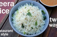 jeera rice recipe 2 ways – how to make jeera rice – jeera pulao