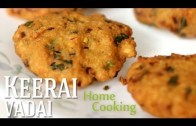 Keerai Vadai Recipe – Ventuno Home Cooking