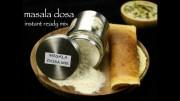 masala dosa mix recipe – instant ready mix masala dosa recipe