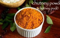 chutney powder recipe – chutney pudi recipe – how to make gunpowder recipe