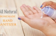 DIY Homemade Natural Hand Sanitizer