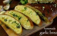 homemade garlic bread recipe – simple & easy garlic bread recipe