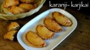 karanji recipe – karjikai recipe – karida kadubu or karikadubu recipe