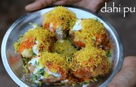 dahi puri recipe – how to make dahi batata puri recipe