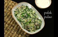 palak pulao recipe – spinach pulao recipe – spinach rice recipe