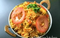 tomato rice – tomato bath – south indian tomato rice recipe