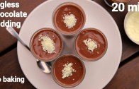 chocolate pudding recipe – eggless choco pudding – एगलेस चॉकलेट पुडिंग – choc pudding