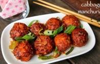 cabbage manchurian recipe – dry cabbage veg manchurian recipe