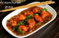 gobi manchurian gravy recipe – cauliflower manchurian gravy recipe – how to make gobi manchurian