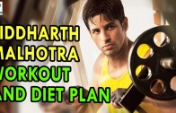 Siddharth Malhotra workout and diet plan – Health Sutra – Best Health Tips