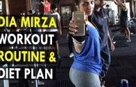 Dia Mirza Workout Routine & Diet Plan – Health Sutra – Best Health Tips