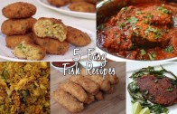 5 Easy Fish Recipes – Fish Curry – Cutlet – Spicy Fry – Fingers – Scrambled – Compilation