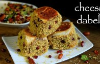 cheese dabeli recipe – how to make kacchi cheese dabeli with dabeli masala