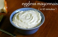 eggless mayonnaise recipe – veg mayonnaise recipe – how to make eggless mayo recipe
