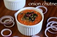 onion chutney recipe – south indian onion chutney for idli & dosa
