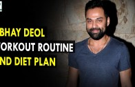 Abhay Deol Workout Routine And Diet Plan – Health Sutra – Best Health Tips
