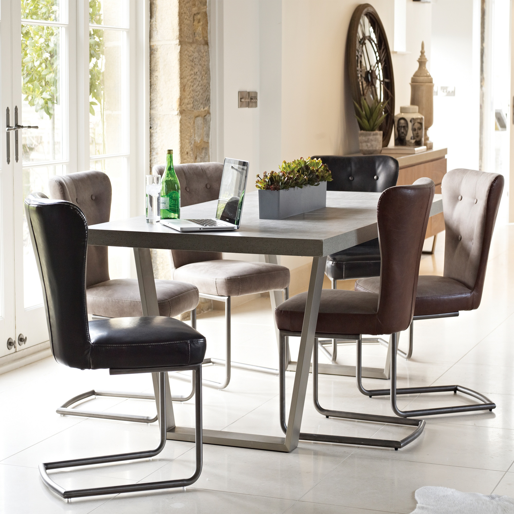 Oversized Dining Chair Cookes Collection Urban Large Dining Table And 6 Chairs