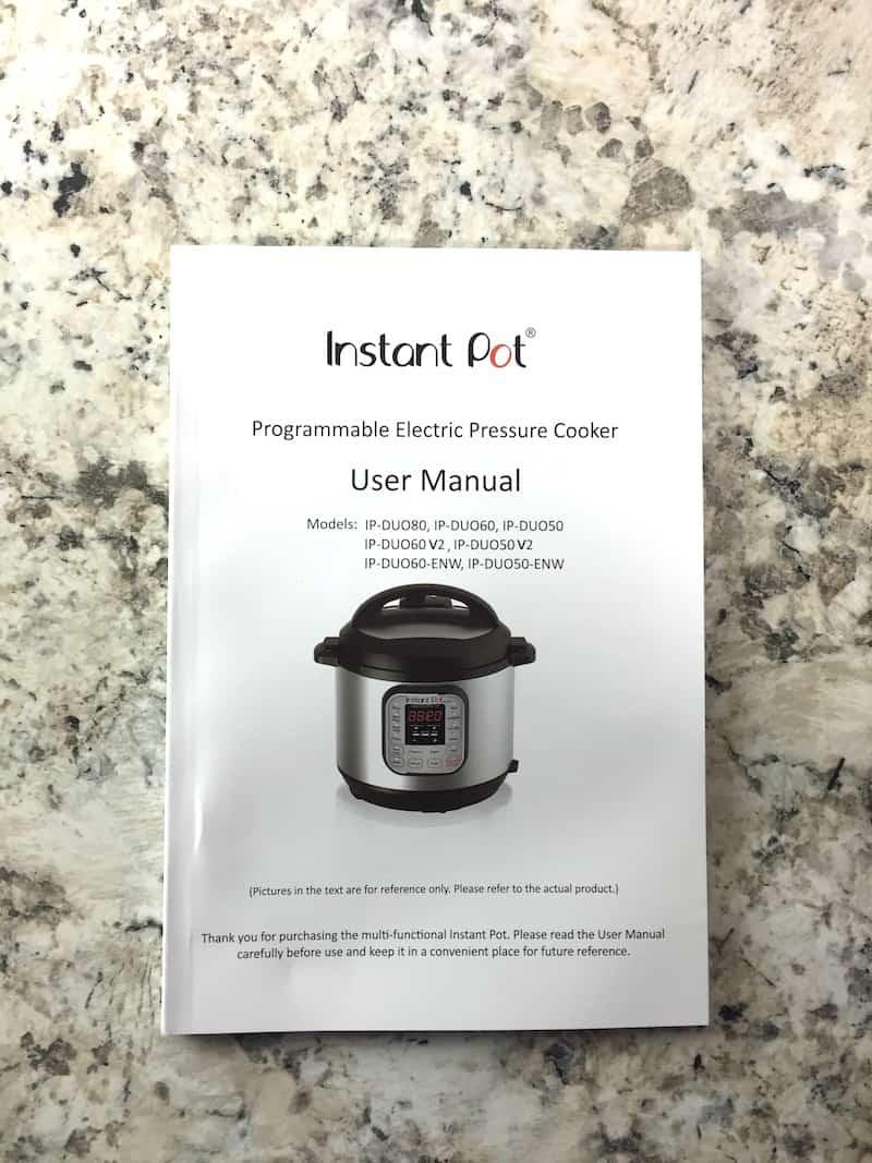 Farberware Instant Pot Manual : farberware, instant, manual, Instant, Setup, Fast,