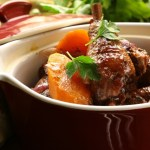 Recipe: Coq au vin (chicken braised in wine)