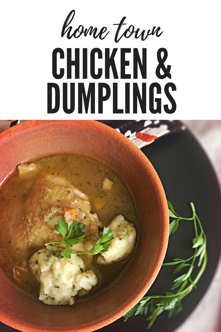 Down Home Chicken and Dumplings | cookglobaleatlocal.com